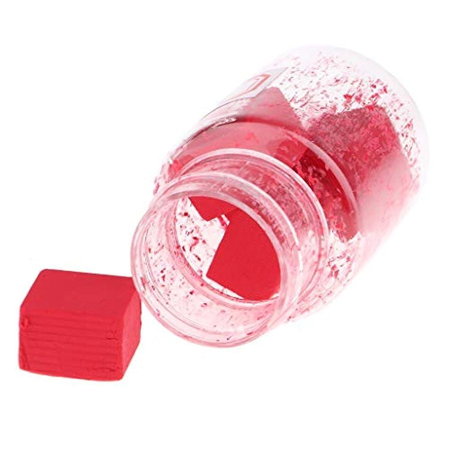 穴スーダン構成Perfeclan 口紅作り DIY リップスティック原料 赤面原料 無ワックス 無粉砕 無飛翔粉末 9色選択でき - B