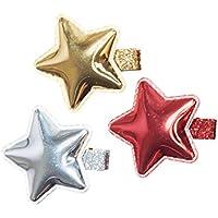 アンナ?Belen「Amanda」Shiny Starクリップのセット( 3色)