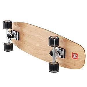 DUB STACK(ダブスタック) クルージングスケートボード 27インチ 高品質カナディアンメープル コンプリート Natural LSB627-NA