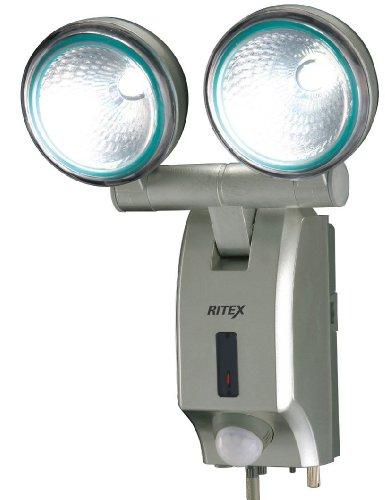 ムサシ RITEX 7W×2 LED多機能型センサーライト 「家庭用100V電源」 LED-AC514