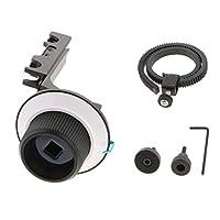 Baoblaze フォローフォーカス ギアリングマウントDSLRカメラ カムコーダ レールリグサポートシステム