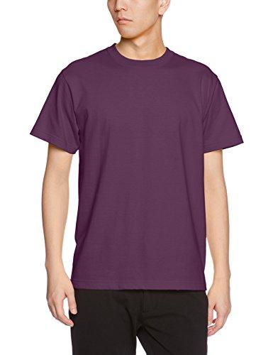 ユナイテッドアスレ 5.6オンス ハイクオリティー Tシャツ 500101 079 マットパープル XL
