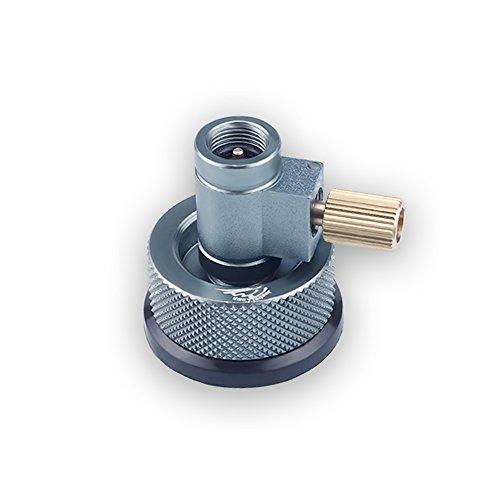 リンドルバルブキャニスターガスコンバーターシフター+ガスカートリッジヘッド変換アダプタ