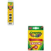 kitcyo523024cyo531508 – Valueキット – Crayola Artista II 8-color水彩セット( cyo531508 ) and Crayola Classic色パッククレヨン( cyo523024 )