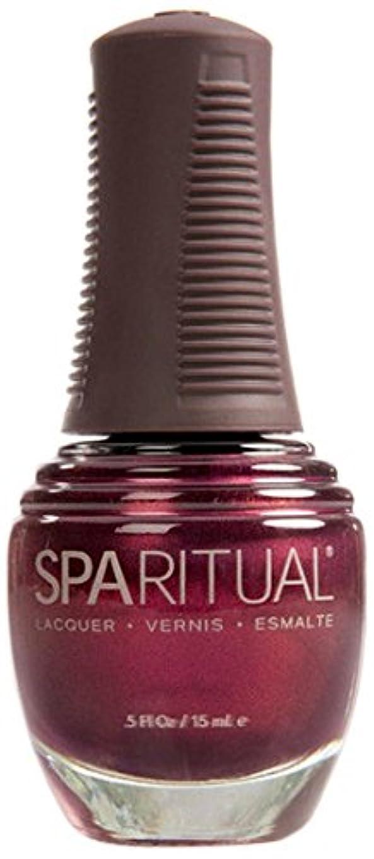 SpaRitual スパリチュアル ネイルラッカー デイズ オブ ワイン アンド ローズ15ml #80122