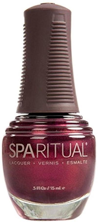 豪華な定常グラスSpaRitual スパリチュアル ネイルラッカー デイズ オブ ワイン アンド ローズ15ml #80122