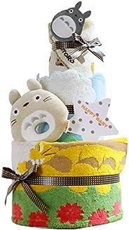 出産祝い スタジオジブリ となりのトトロ 2段 おむつケーキ
