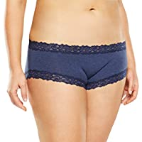 Jockey Women's Underwear Parisienne Cotton Boyleg Brief