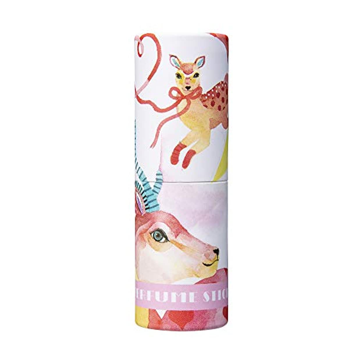 トランスミッション非難ガラガラパフュームスティック ラブ チェリー&ミックスベリーの香り CatoFriendデザイン 5g
