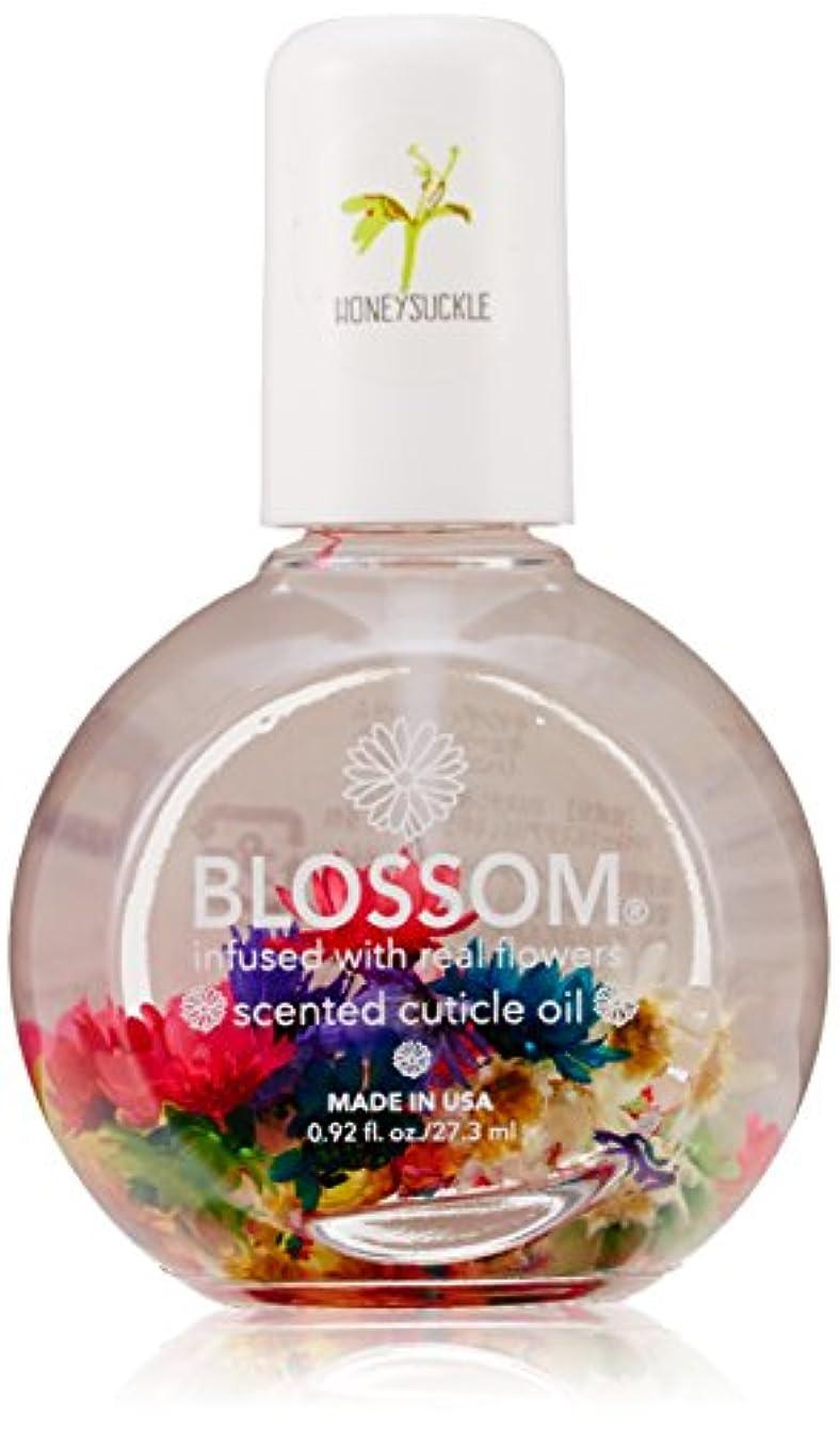 提案速記同時Blossom ネイルオイル フラワー 1OZ ハニーサックル WBLCO122-1
