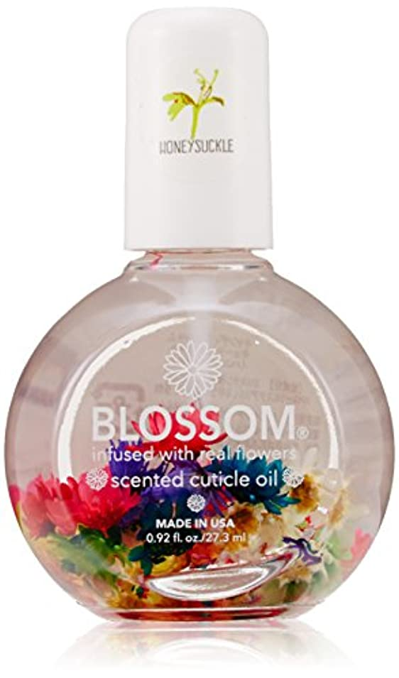 ヤング欺同意するBlossom ネイルオイル フラワー 1OZ ハニーサックル WBLCO122-1