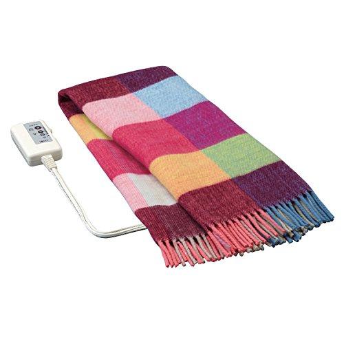 広電(KODEN) 電気ひざ掛け毛布(140×82cm) ピンク