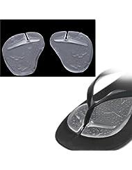 BEE&BLUE 前足パッド 保護カバー つま先スリーブ中足パッド 足用 ゲルクッション インソール 前ズレ防止 つま先の痛み緩和 靴脱げ 滑り止め 足裏マッサージ