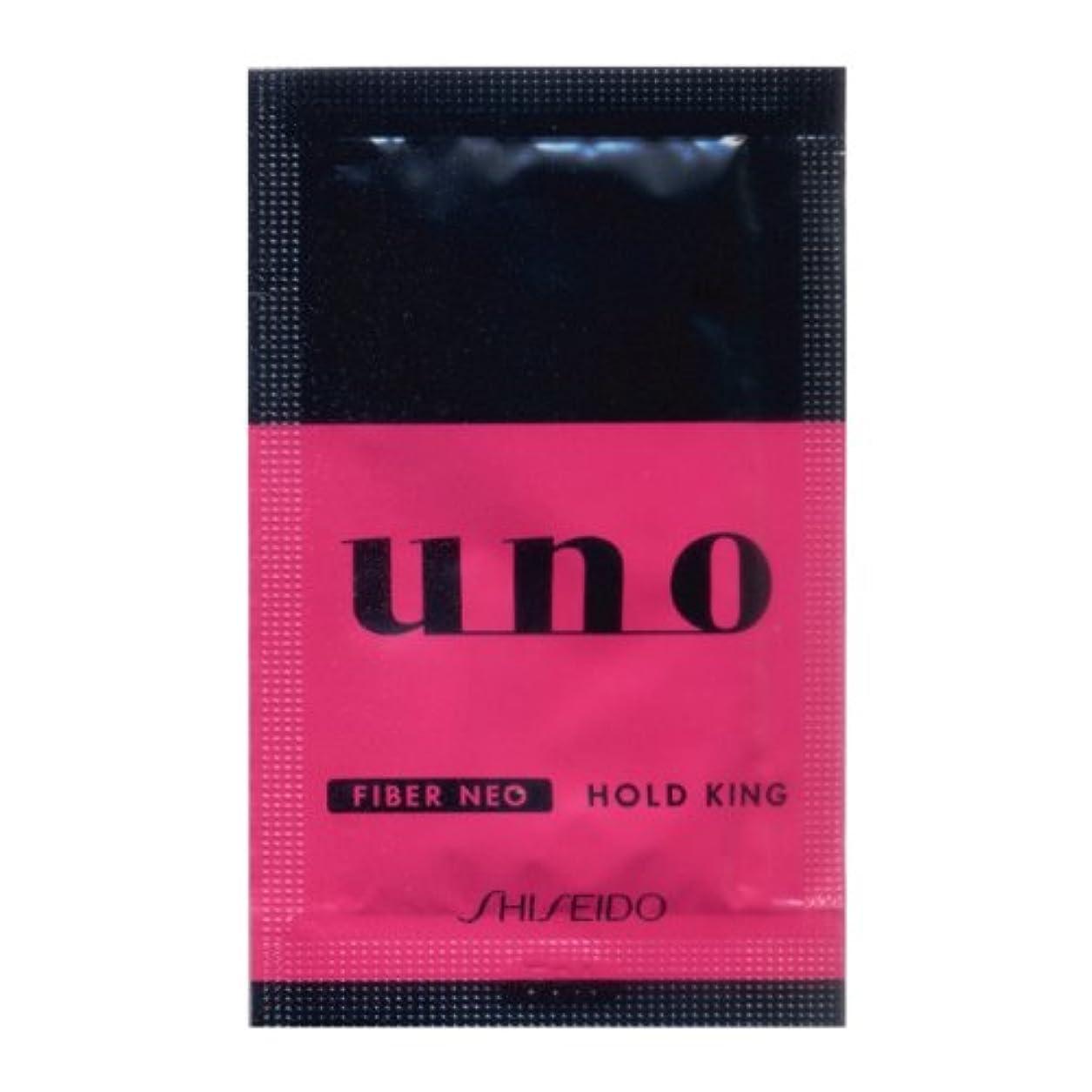 擬人化カウントアップ細い資生堂 UNO パウチ ホールドキング ワックス整髪料 10包