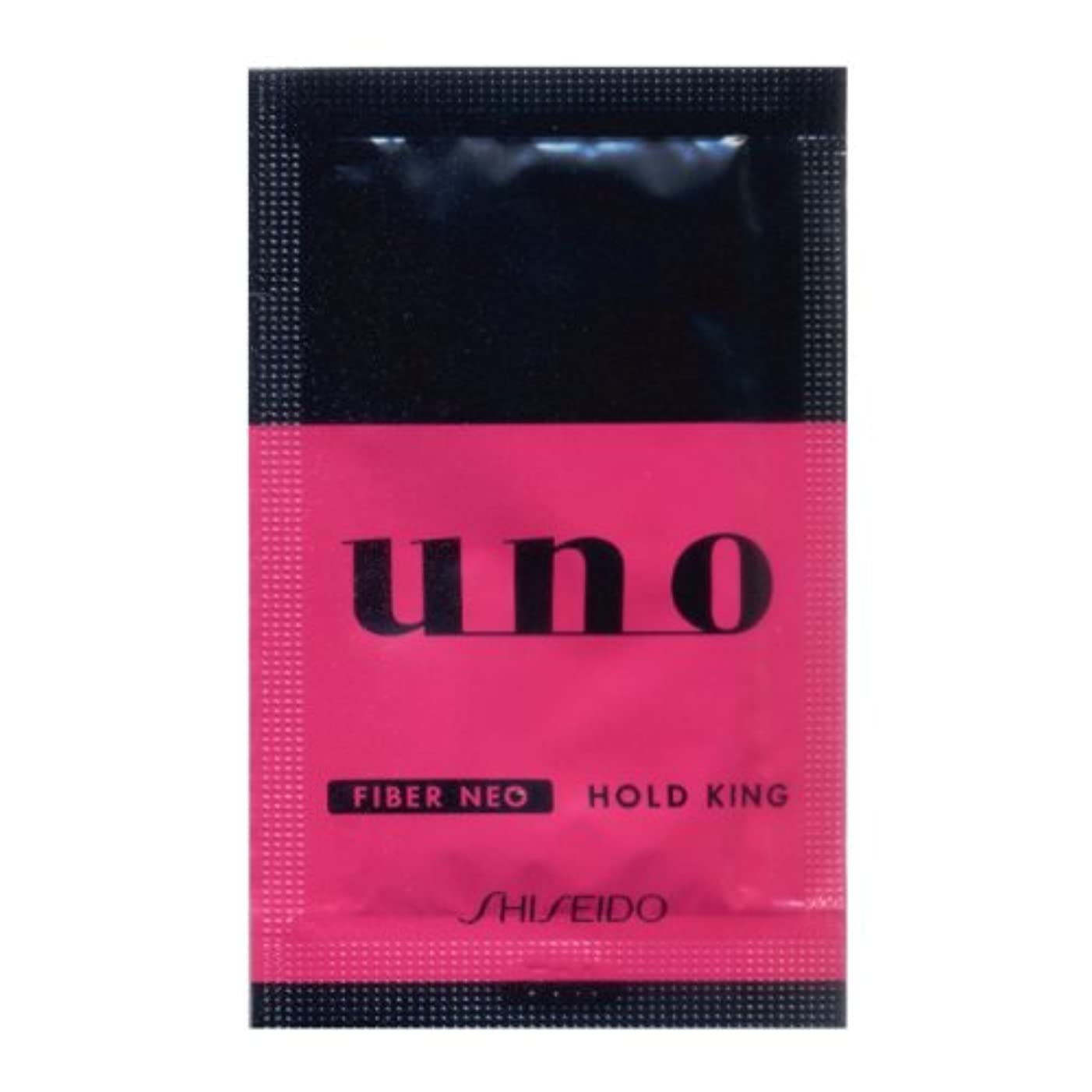おもしろいコンパニオン有害な資生堂 UNO パウチ ホールドキング ワックス整髪料 10包