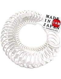 日本製 swanunion リングゲージ 日本職人の技 日本標準規格 全36サイズ 指輪 測定 指 の サイズ 号数 を測れる 純日本製 日本規格 サイズゲージ 0号 ピンキーリング sg8-fba