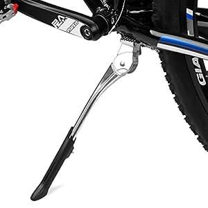 "BV(ビーブイ)自転車キックスタンド 長さ調整可能 24""~29""(60~73CM)対応 センタースタンド BV-KA76 シルバー"