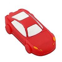 新しい到着スーパーロードスターの車のusbスティック4ギガバイト8ギガバイト16ギガバイト32ギガバイト64ギガバイトかわいいカースタイリングペンドライブusb 2.0ペンドライブusbフラッシュドライブ-64GB-Red