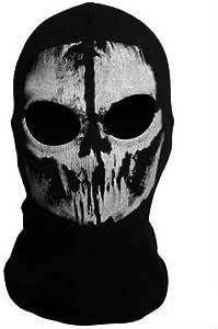 サバゲー フェイスマスク スカル ゴースト ドクロ cod バラクラバ 骸骨 目出し帽