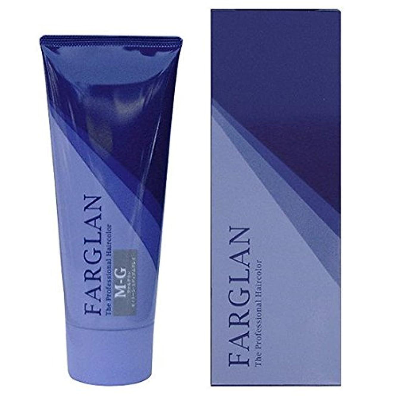 密常習的有益なFARGLAN(ファルグラン) ヘアカラー M-G(MEDIUM GRAY) 160g