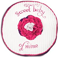 Pavilion Gift Company Baby Pillow, Sweet Baby, 12 by Pavilion Gift Company