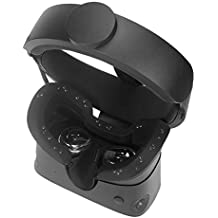 Esimen VR Face Silicone Cover Mask for Oculus Rift S Standard Facial Pad, Reusable Sweatproof Lightproof (Black)