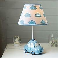 RL-テーブルランプ 車の子供部屋のテーブルランプ男の子の寝室のベッドサイドランプ漫画かわいい女の子の読書ランプ (Color : B, サイズ : M)