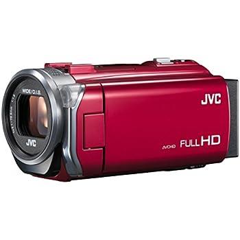 JVCKENWOOD JVC ビデオカメラ EVERIO 内蔵メモリー32GB レッド GZ-E765-R