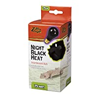 Zilla - Night Black Heat Incandescent Bulb 75 Watt - 100009913