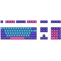 KISENG キーキャップセット 108キー OEMプロファイル PBT 染料昇華 メカニカルキーボ…