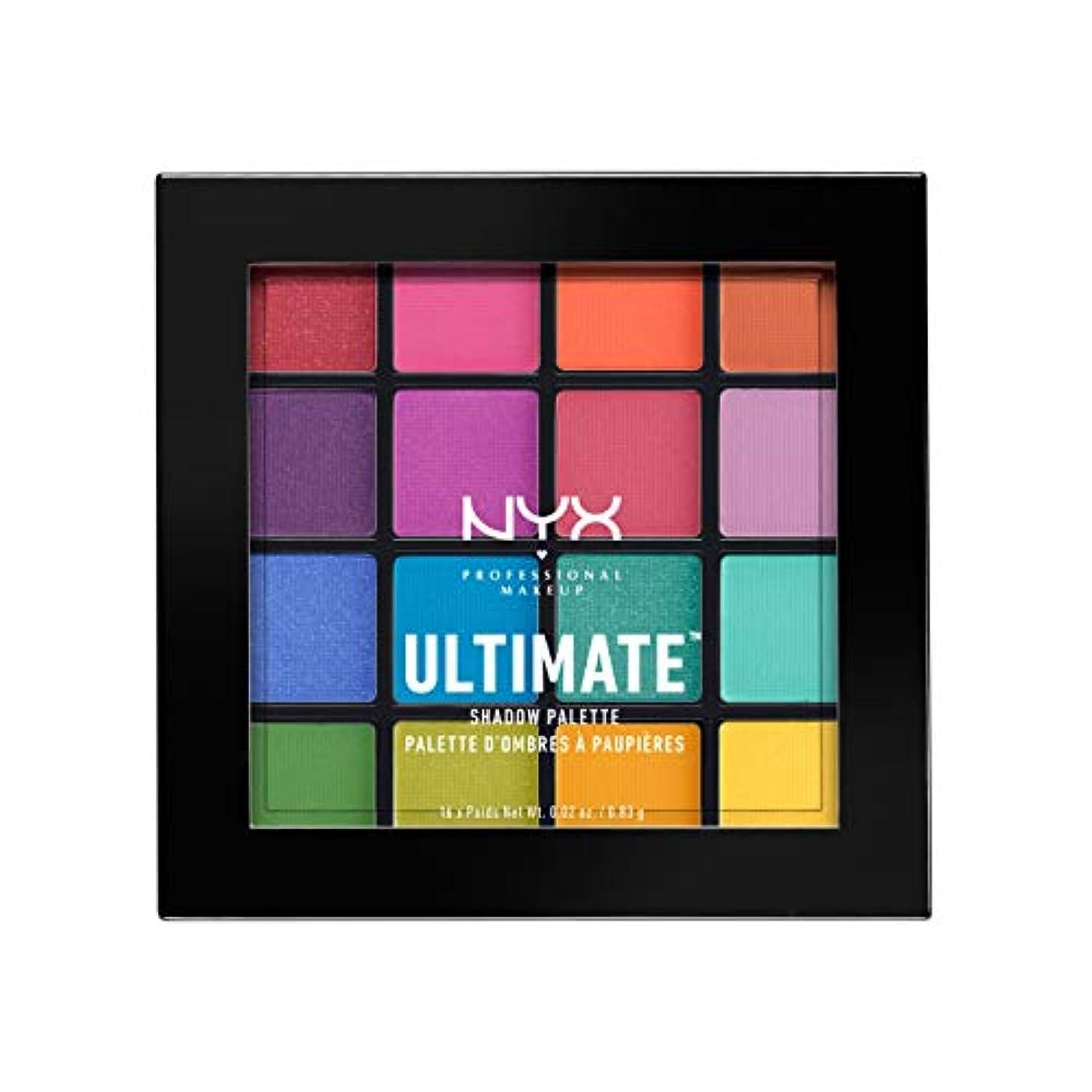 NYX(ニックス) UT シャドウ パレット 04 カラー?ブライト アイシャドウ