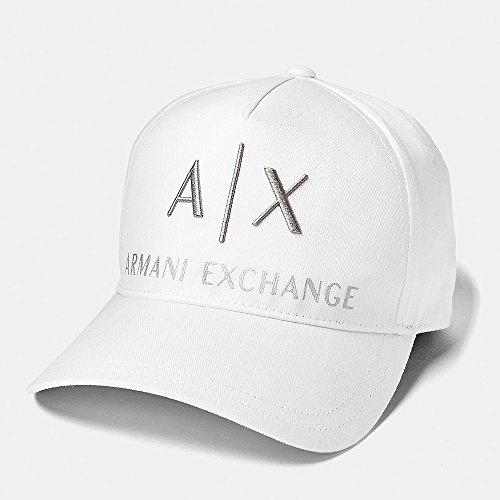 アルマーニエクスチェンジ キャップ 帽子 ARMANI EXCHANGE A/X ax472 ホワイト [並行輸入品]