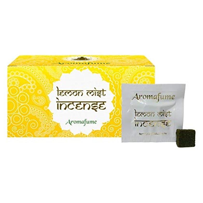 備品好ましい基準Aromafume Lemon Mist Incense Bricks (Medium)