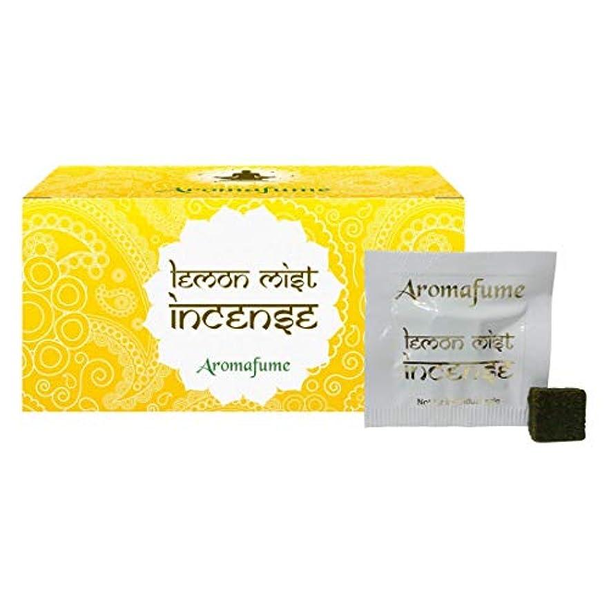 突然の荒らす子羊Aromafume Lemon Mist Incense Bricks (Medium)