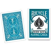 Cards Bicycle Turquoise Back USPCC by Vincenzo Di Fatta (V) [並行輸入品]