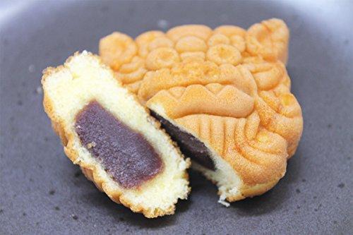 沖縄シーサー饅頭 (あんこ) 15個×2箱 明輝 沖縄のシーサーの形をした可愛いまんじゅう。