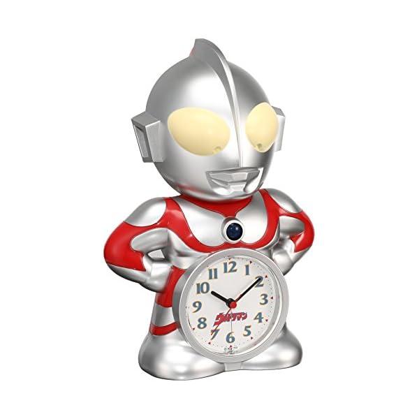 セイコー クロック 目覚まし時計 ウルトラマン ...の商品画像
