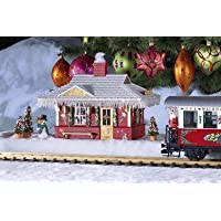 PIKO G SCALE MODEL TRAIN BUILDINGS - NORTH POLE STATION (BUILT-UP) - 62265 by Piko