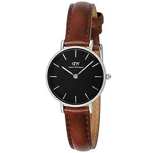 [ダニエル・ウェリントン]Daniel Wellington 腕時計 Classic Petite Black St Mawes ブラック文字盤 DW00100237 【並行輸入品】
