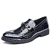 [MUMUWU] シューズ メンズ靴 ビジネスシューズ ストレートチップ 紳士靴 防水 通勤 オシャレ (Color : Silver, サイズ : 25.5 CM)