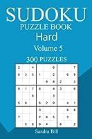 300 Hard Sudoku Puzzle Book