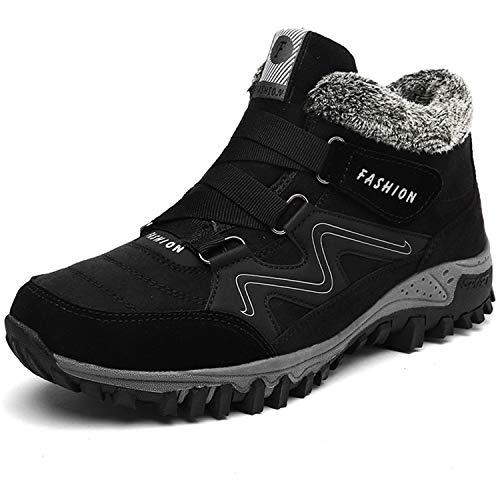 [Visionreast] 22.5-28cm ハイキングシューズ メンズ レーディス 防寒 ブーツ 防滑 スノーブーツ 登山靴 レースアップ 防寒靴 綿靴 トレッキングシューズ 暖かい アウトドア スエード スニーカー