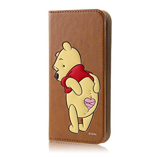レイ・アウト iPhone SE/5s/5 ケース ディズニー 手帳型ケース ポップアップ くまのプーさん RT-DP11J/PO