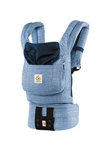 エルゴベビー(Ergobaby) 抱っこひも おんぶ 装着簡単 オリジナル/ヴィンテージブルー【日本正規品保証付】 CREGBCABLU