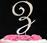 Rhinestone Cake Topper Letter Z by other