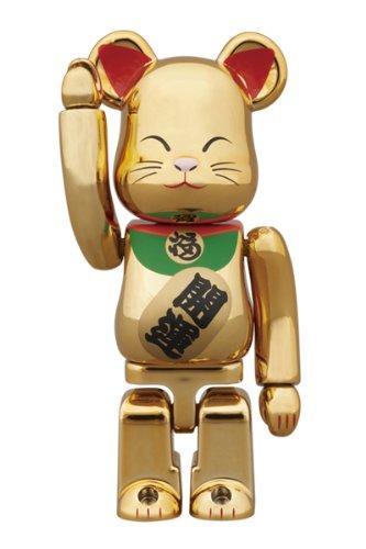 東京ソラマチ限定 BE@RBRICK 招き猫 金メッキ 弐 100%