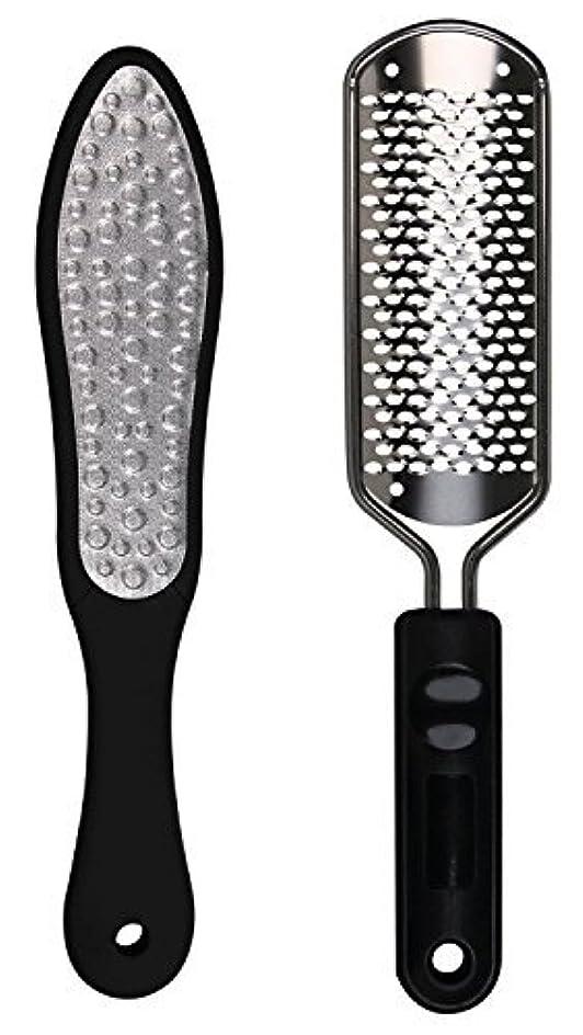 ブースまでかまどOneleaf 2PCS Professional Pedicure Rasp Foot File Cracked Skin Corns Callus Remover for Extra Smooth and Beauty...