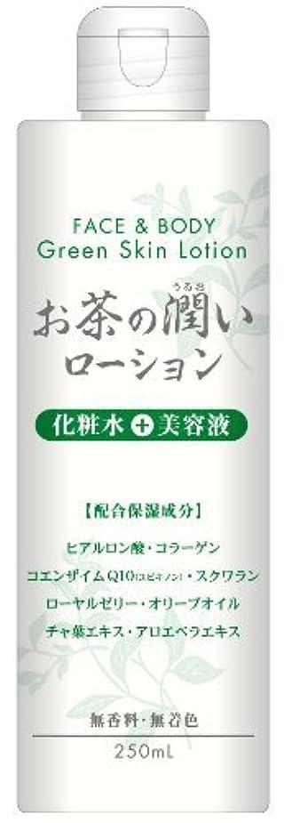 お茶の潤い ローション 250ml ×5個セット