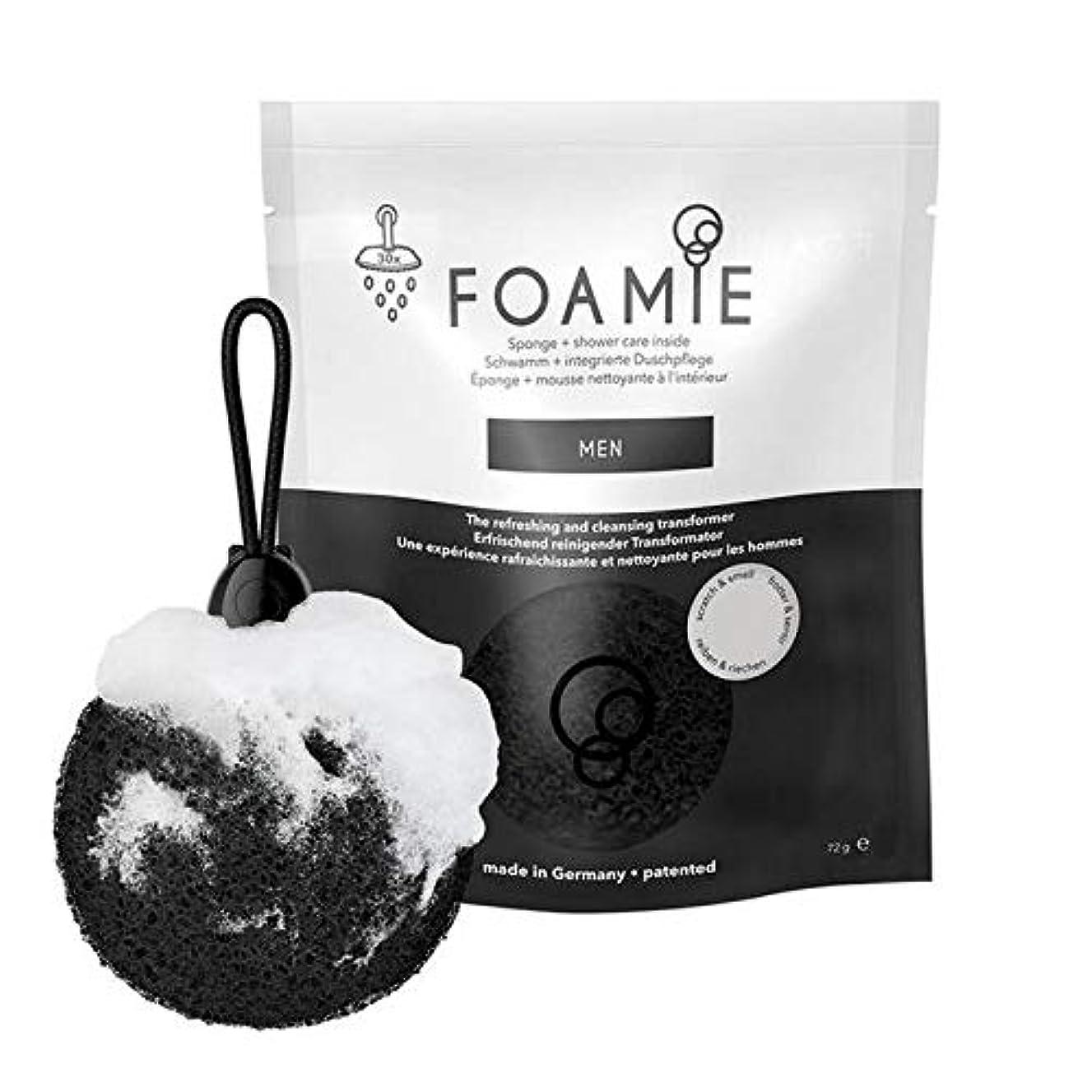 ハリケーンバルコニー流暢[Foamie] Foamieメンズスポンジ&ボディウォッシュ - Foamie Men's Sponge & Body Wash [並行輸入品]