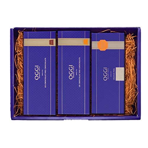 OGGI オッジ チョコレート ショコラ2本・ショコラデショコラ プレーン オレンジ オレンジピールセット